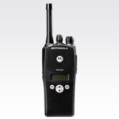 Motorola Solutions PR400 Portable Two-Way Radio
