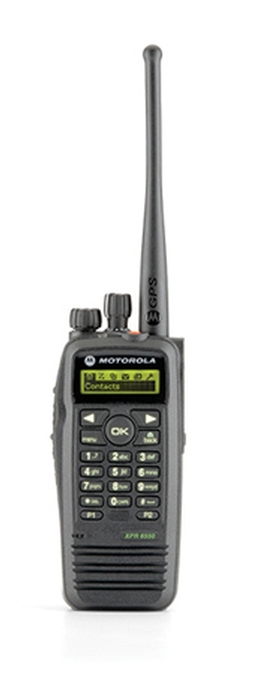 Motorola Solutions XPR6550 Portable Two-Way Radio