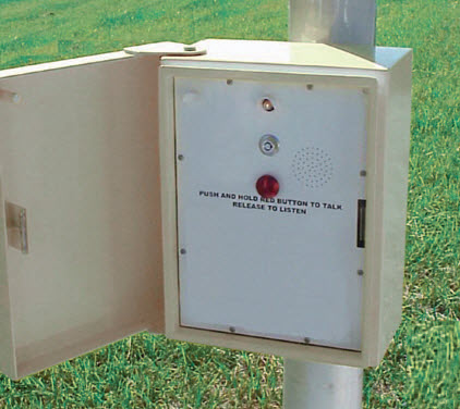 AC/DC Powered MACone Call Box