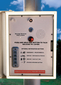 AC/DC Powered MACplus Call Box