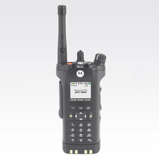 APX6000 P25 Enhanced Portable Two-Way Radio