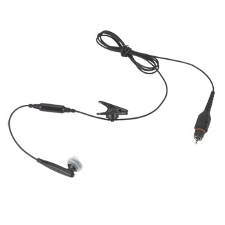 "Wireless Bluetooth Earbud with 45"" Cable"