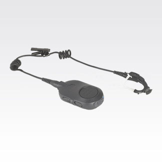 "Bluetooth Mission Critical Wireless Earpiece with 12"" Cable"