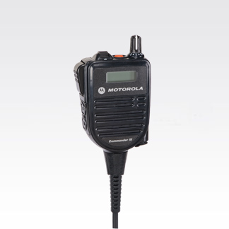Display Remote Speaker Microphone APX