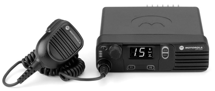 XPR4380 Trunked Mobile Two-Way Radio
