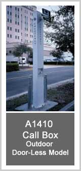 AC/DC A1410 Call Box - Outdoor Door-Less