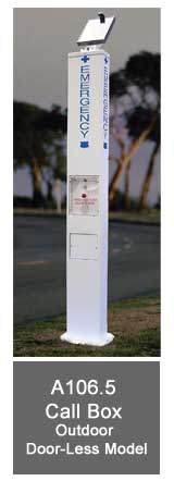 Solar A106.5 Call Box - Outdoor Door-Less