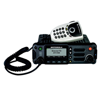 APX1500 P25 Mobile Two-Way Radio