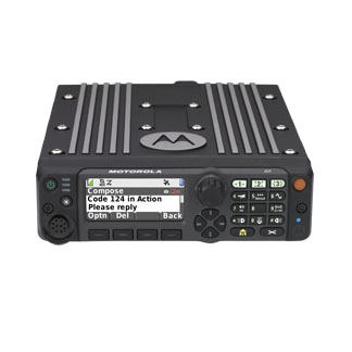 Motorola Solutions APX6500 P25 Single-Band Mobile Two-Way Radio