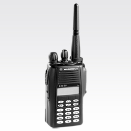 Motorola Solutions EX600XLS Portable Two-Way Radio