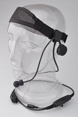Tactical Headset with Speaker and Boom Microphone