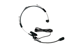 Headset with Boom Microphone and PTT