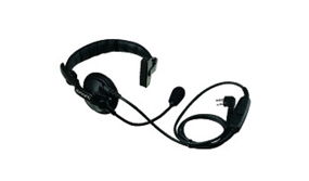 Lt. Wt Single Muff Headset w/ Boom Mic & In-Line PTT