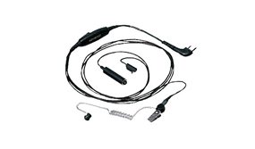 3-Wire Lapel Microphone with Earphone