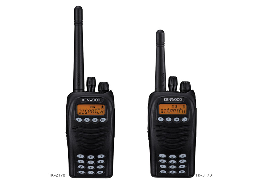 TK-2170/3170 VHF/UHF Portable Two-Way Radio