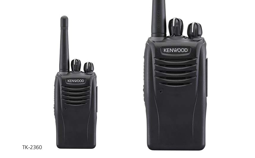 TK-3360K Compact VHF/UHF FM Portable Two-Way Radios