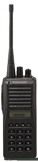 TK-480/481 800/900 MHz Trunked Portable Two-Way Radio