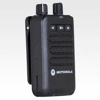 MINITOR VI Two-Tone Voice Pager Non-Intrinsically Safe