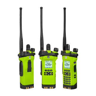 APX8000XE P25 All-Band Portable Two-Way Radio
