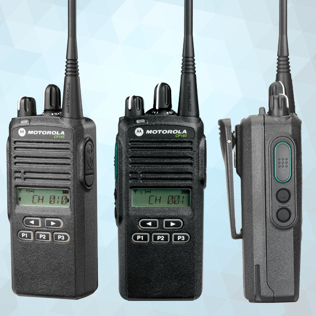 CP185 Portable Two-Way Radio 435-480 MHz