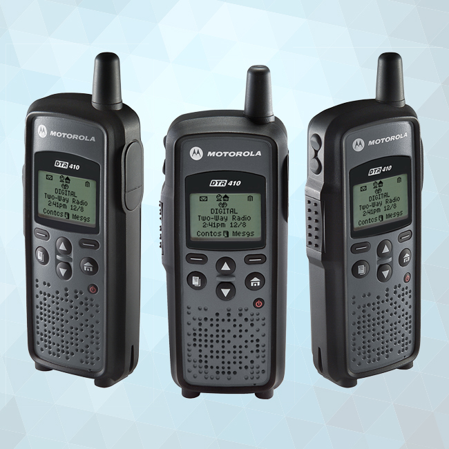 DTR410 Digital On-Site Portable Two-Way Radio