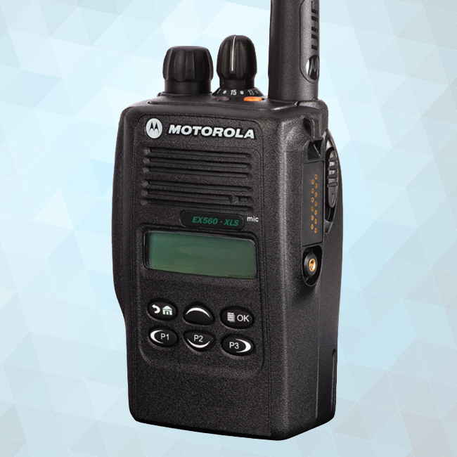 EX560XLS Portable Two-Way Radio