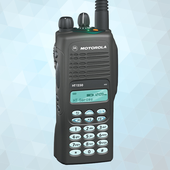 HT1250 Portable Two-Way Radio