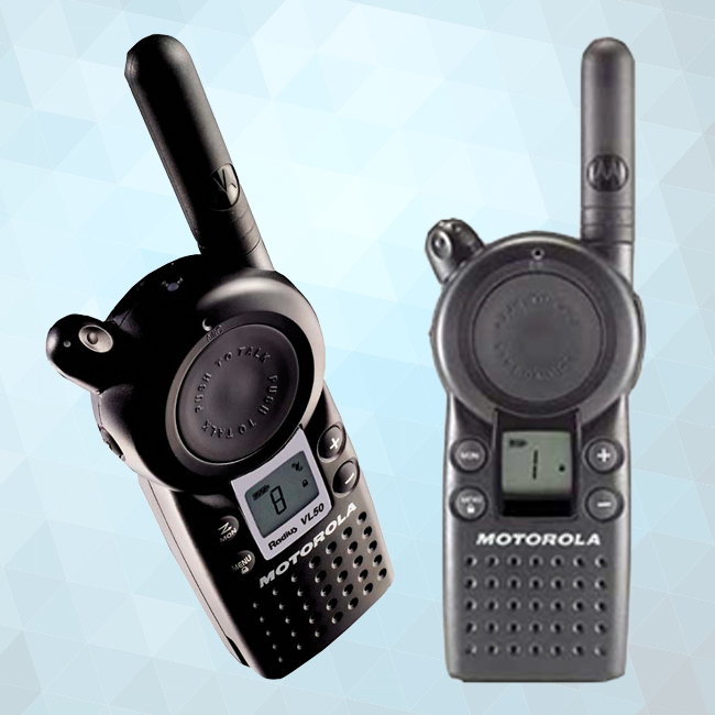 Motorola VL50 Portable Two-Way Radio - Radio Communications