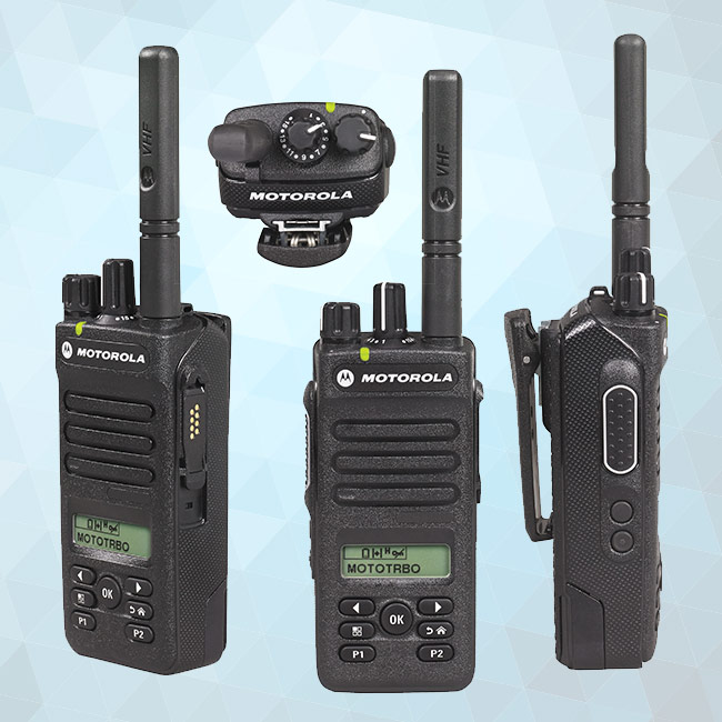 XPR3500e Portable Two-Way Radio 136-174 MHz (Display, Limited Keypad)