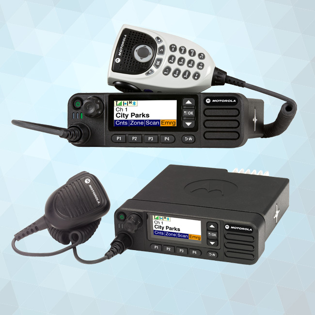XPR5550e Series Mobile Two-Way Radios 450-512 MHz 40W