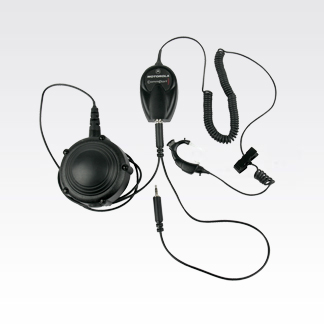 CommPort Ear Microphone with Body PTT