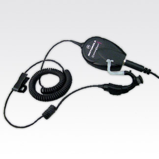 CommPort Ear Microphone with Palm PTT