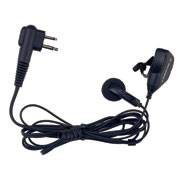 Earbud with Microphone & Push-to-Talk Combined