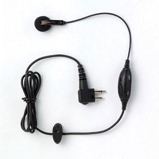 Commercial Series Earbud with In-Line Microphone/PTT/VOX Switch