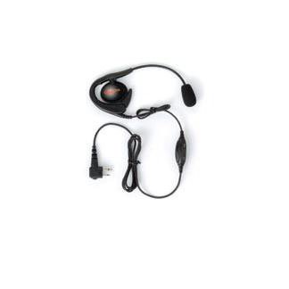 Commercial Series Earset with Over-the-Ear Styling, Boom Microphone and In-Line PTT/VOX Switch
