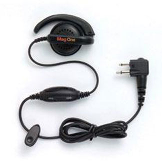 Professional Series Over-the-Ear Receiver with In-Line Microphone/PTT/VOX Switch