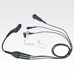 Black IMPRES 3-Wire Surveillance Kit