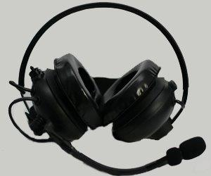 Heavy Duty Headset with PTT on Earcup