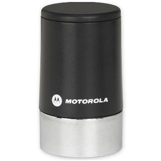 Motorola Solutions UHF Black Roof Mount Antenna with Mounting Kit - 450-470 MHz