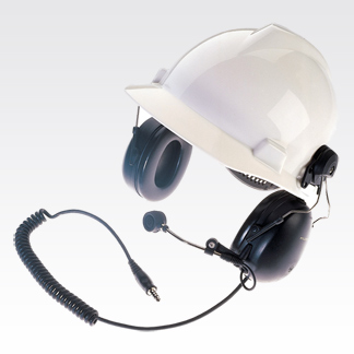 Tactical Hard-Hat Medium-Weight Headset