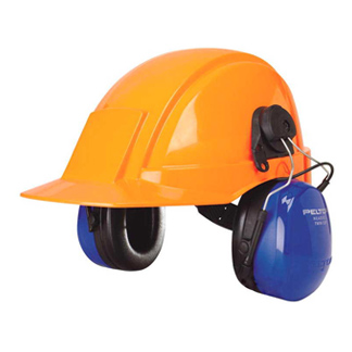 Receive-Only Hardhat Mount Headset