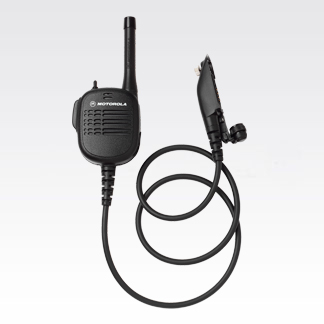 "Public Safety Microphone with VHF Antenna and 30"" Cord"