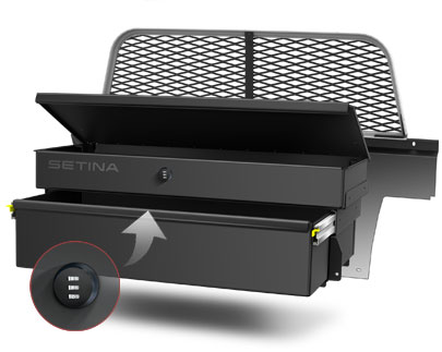 Setina 12vs Partition Heavy Duty Cargo Tray
