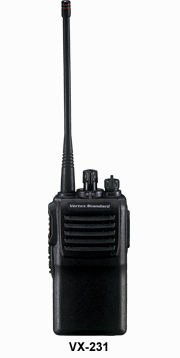 VX-230 Series Portable Radio