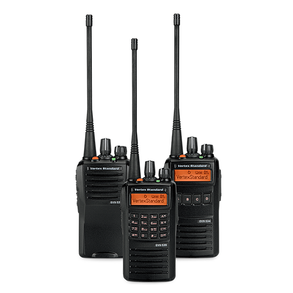 eVerge EVX-530 Series Digital Portable Radios