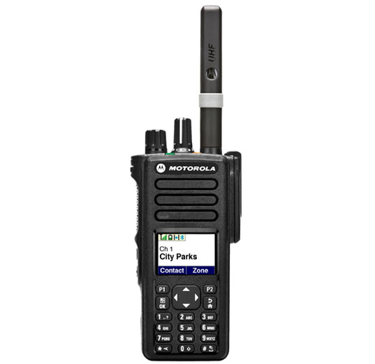 Motorola Solutions XPR7580 Portable Two-Way Radio