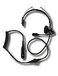 Lightweight Headset with In-Line Push-to-Talk