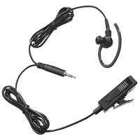Black 2-Wire Surveillance Kit with Extra Loud Earpiece
