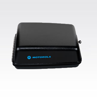 Motorola Solutions Black Motorcycle Enclosure