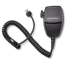 Compact Palm Microphone with 7' Coil Cord and Clip